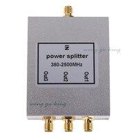 Free Shipping 1PCS 380 2500MHz N 3 Way RF Power Divider Splitter For GSM CDMA DCS