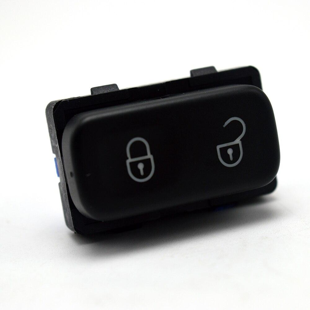 Alta qualidade para skoda octavia mk2 yeti 2004-2013 interruptor do sistema de bloqueio da porta central botão preto 1z0 962 125a/1zd 962 125a