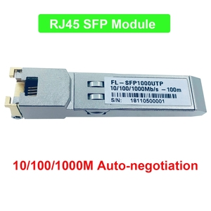 10/100/1000M auto-negotiation converter sfp to rj45 ethernet for gpon epon OLT hot pluggable Fiber optical switch Compatible(China)