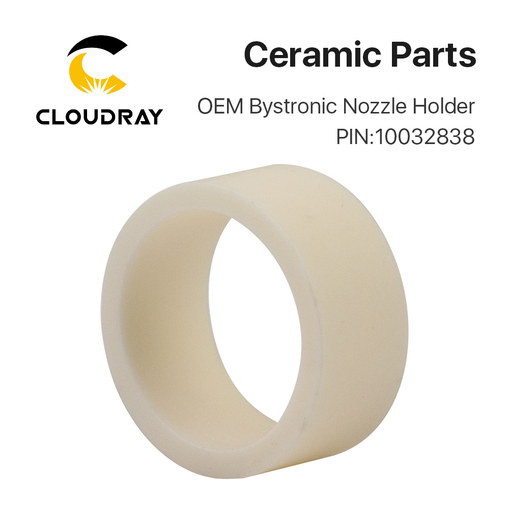 Cloudray Bystronic 10032838 Laser Ceramic Insulating Ring D26 H11.5 Fiber Laser Cutting Machine Spare Parts