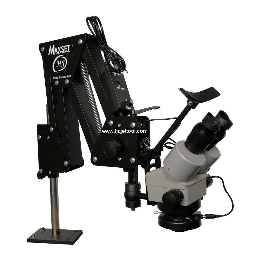 Hot Koop Sieraden Maken Gereedschap Micro Pave Stone Instellen Microscoop met ACROBAT Stand 7X 45X Gem Microscoop-in Sieraden Hulpmiddelen & Uitrustingen van Sieraden & accessoires op  Groep 1