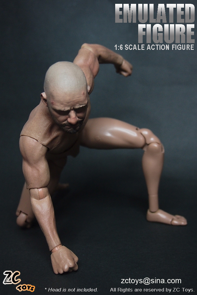 Free Shipping 1/6 Scale Muscular Figure Muscle Body Similar For Hot Toys 12 Action Figure Doll Toys Soldier Model