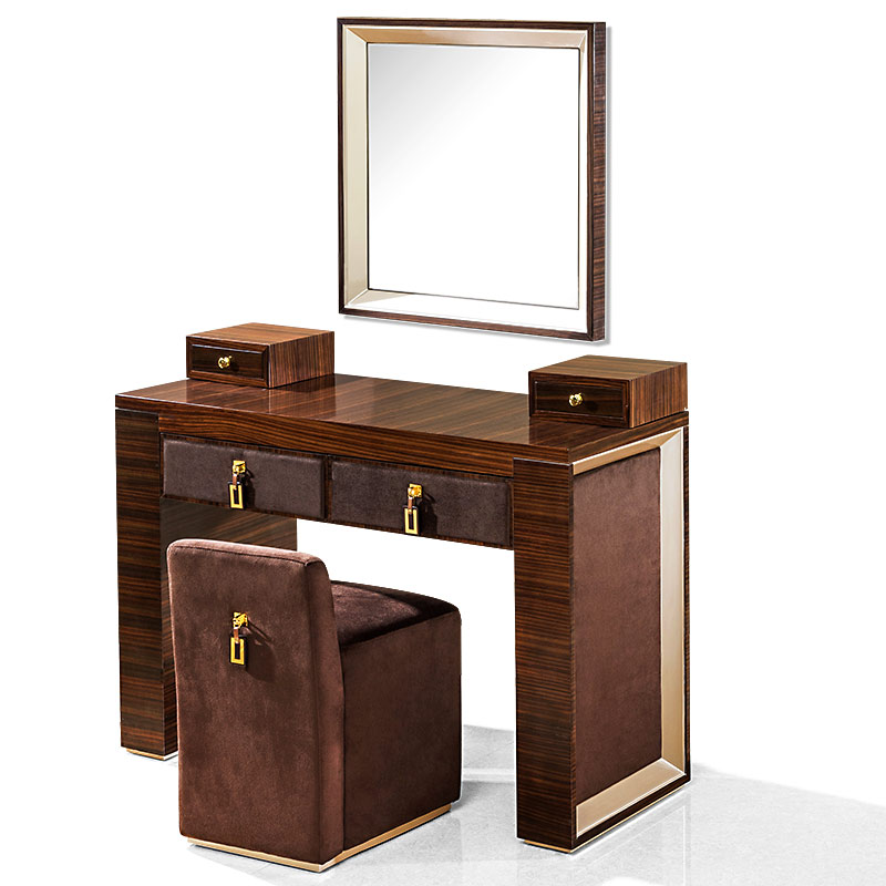 Modern Style Bedroom Furniture Dressing Table With Mirror And Chair Home  Furniture High Standart Italy Design By Famouc Designer In Dressers From  Furniture ...