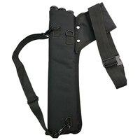 3 tubo arco saco de tiro com arco aljava setas carry saco portátil setas acessórios|Malotes|   -