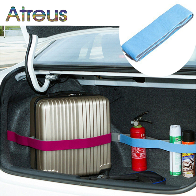 Atreus Elastic Car Trunk Organizer Stowing Fixed Strap For Buick Ford Focus 2 3 Ranger Mustang Volkswagen Golf 4 7 5 6 Polo MK4