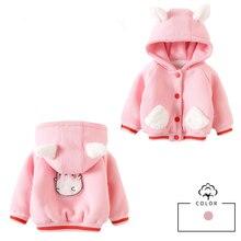 Повседневное плотное шерстяное пальто для девочек; Верхняя одежда с капюшоном; теплые куртки для маленьких детей; утепленная одежда для маленьких девочек; бархатное пальто