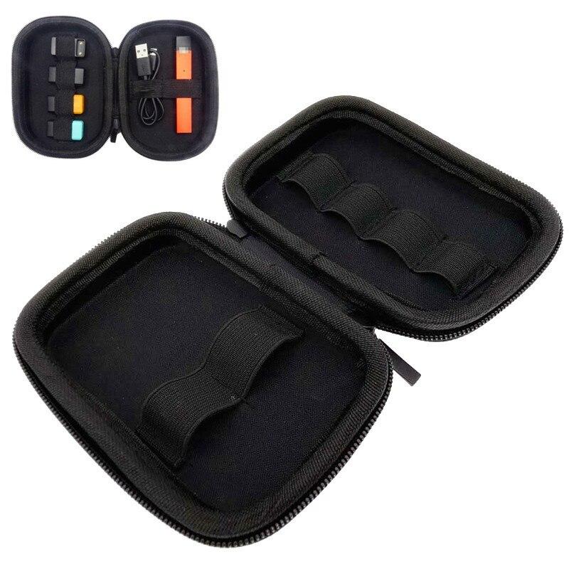 Nouveau boîtier universel multifonctionnel pour Juu Cigarette électronique PU étui Portable en cuir pour Vape petit sac de rangement