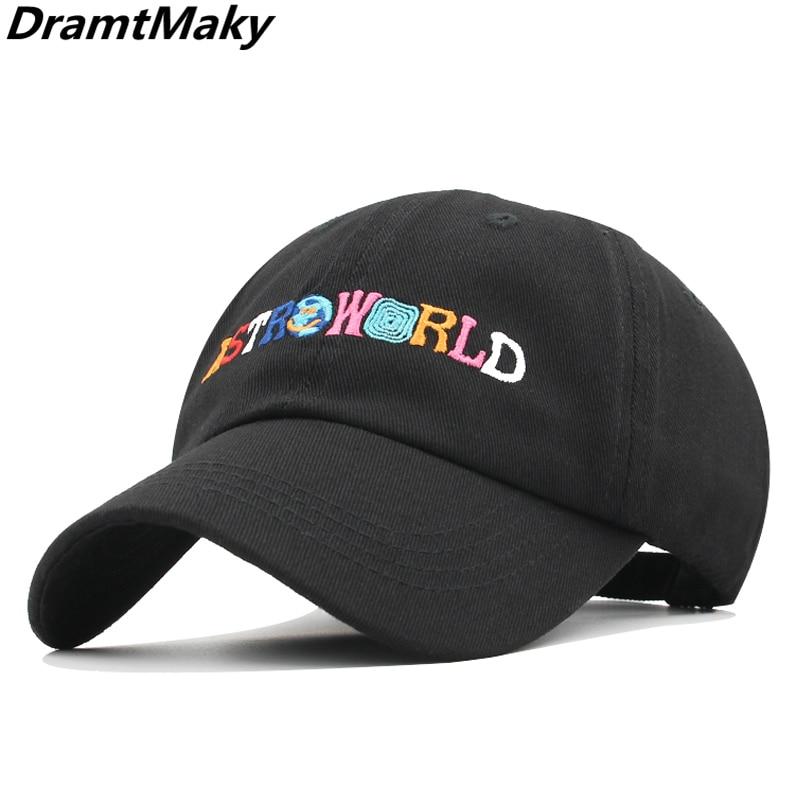 Nuovo ASTROWORLD Cappellini da Baseball Ricamo Hip Hop osso Cappelli di Snapback  per le Donne Degli 336eafca9e7d