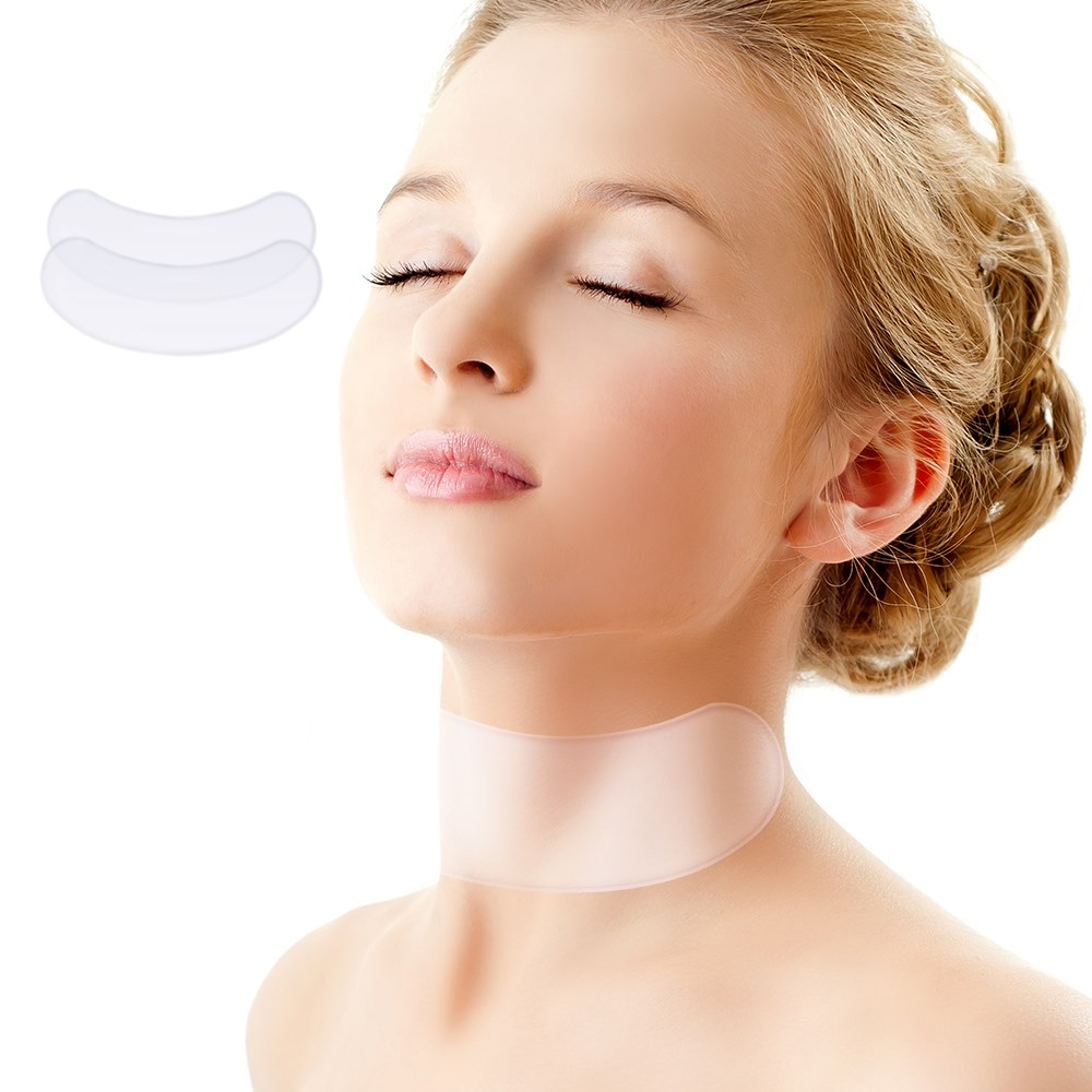 Anti Wrinkle Neck Pad Silicone Neck Wrinkles Remover Pads Ageless Neck Skin Lift Anti Aging Treatment Silicone Pad Drop Ship New (1)_