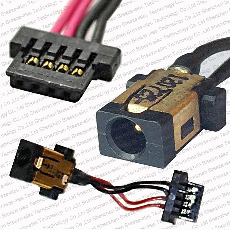 Genuine AC DC Power Jack Socket Cable Connector wire harness for Acer Aspire Switch 10 series SW5-012 10.1