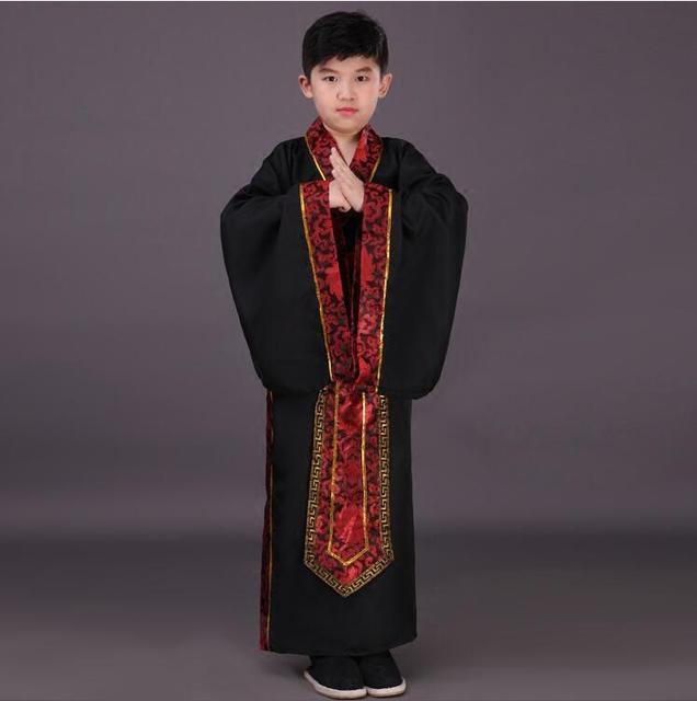 a0ce745b65c9 Hanfu Dress Ancient Chinese Traditional Costume for Kids Boys Hanfu ...