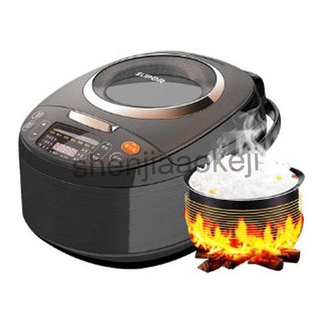 Household 4L smart rice cooker 4-6 people Tao ceramic liner can book rice cooker Ceramic Crystal 220v800w 1pc