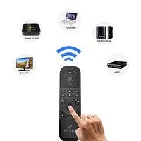 لاسلكي للتحكم 2.4 جرام يطير الهواء الفأر بلوتوث تحكم للتلفزيون صندوق محمول pc الروبوت tv x360/ps3 tv النائية