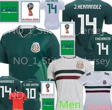 1ff6f8350 Thailand MEXICO SOCCER JERSEYS 2018 2019 CHICHARITO LOZANO DOS SANTOS LAYUN Mexico  football kit shirt camisetas
