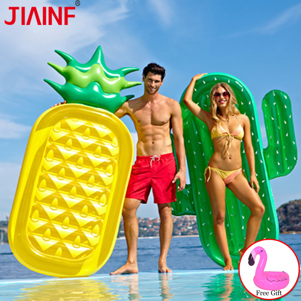 JIAINF 12 Style Inflatable Pool Mattress Water Floating Toy Unicorn Inflatable Beach Swimming Pool Floating Row For Adult