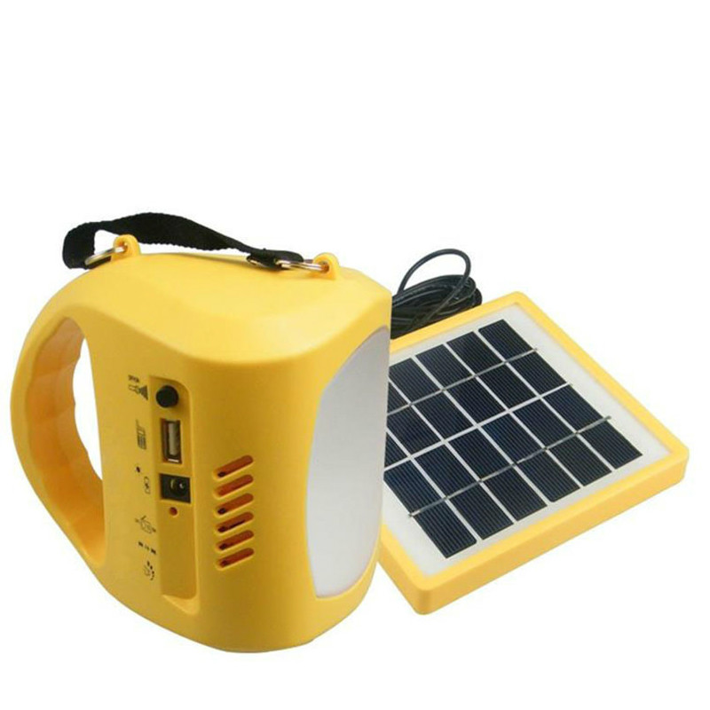 Rechargeable Battery LED Light Solar Lamp Camping Fishing Driving Light with FM Radio Lights USB Charding Flashlight lumiparty led hand cranking solar desk lamp 8 in 1 portable usb charging camping light with fm radio flashlight warning light