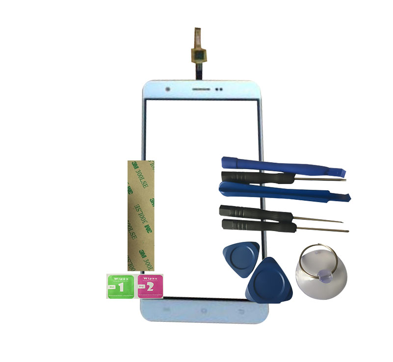 RYKKZ Touch Panel ForFor Uoogou F4 Touch Screen Digitizer Sensor Replacement With Tools+3M Sticker