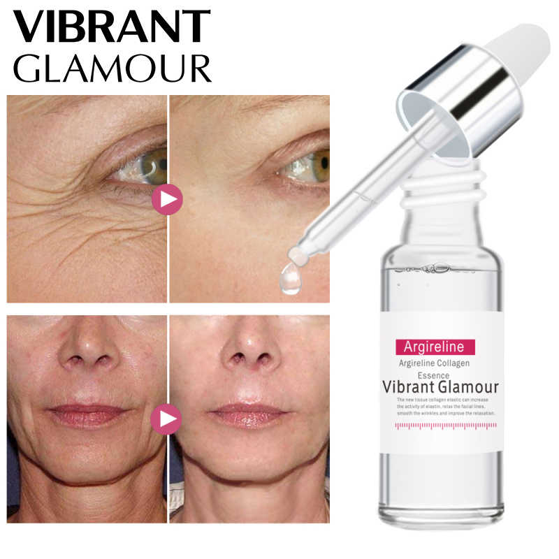VG Hexapeptide Collagen Facial Serum Moisturizing Essence ครีมรูขุมขน Skin Care Whitening Acne Anti Aging Wrinkle