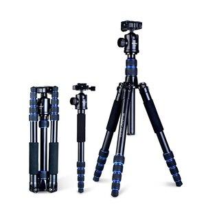 Image 2 - Manbily AZ 310 statyw lustrzanka cyfrowa statyw mikro pojedynczy przenośny Monopod podróży dla Nikon Canon