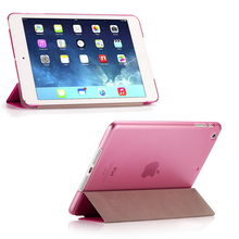 Ultra Slim Smart Flip Stand PU Leather Cover Case For Apple iPad Mini 1 2 Retina Display Wake Up/Sleep Function