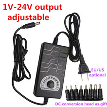 Ayarlanabilir AC/DC 2V 3V 4V 5V 6V 7V 8V 9V 10V 11V 12V 13V 14V 15V 16V 17V 18V 19V 20V 21V 22V 23V 24V 2A adaptör güç kaynağı
