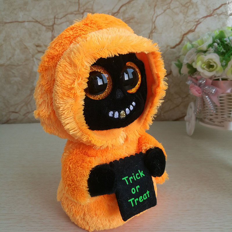 2018 New Halloween Ghost Plush Toy Ty Beanie Boos Collection Kids Toy  Holiday Gift Good Quality Soft Home Decor Party-in Stuffed   Plush Animals  from Toys ... ab26c8f9701