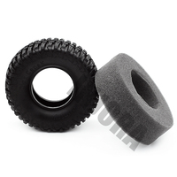 "4PCS 100MM 1.9"" Rubber Tyre / Wheel Tires for 1:10 RC Rock Crawler Axial SCX10 90046 90047 AXI03007 Tamiya CC01 D90 D110 TF2 6"