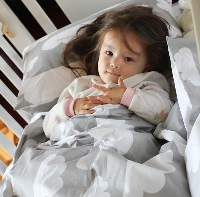 3 unids/set nubes grises de algodón baby bedding set teñido natural sin estimulación del bebé juegos de cama