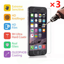 """3pcs/For iPhone 7 7 Plus Screen Protector 9H Tempered Glass Film Ultra Slim 4.7"""" 5.5"""""""