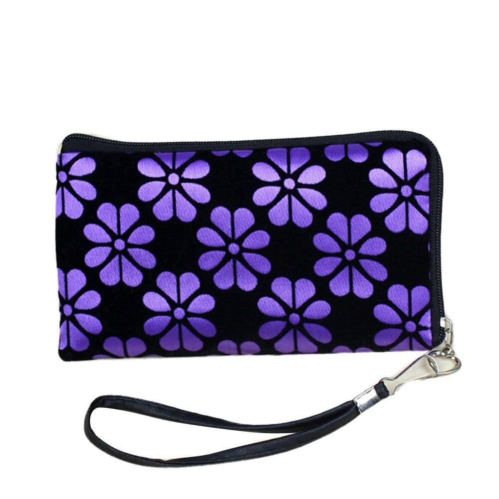 Wallet Key-Bags Change-Purse Clutch Phone Printing Zipper Small Female Fashion Women
