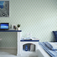 Papel Contact TV Background Papel De Parede 3D Wall Paper Roll Damask Wallpaper For Bedroom Living