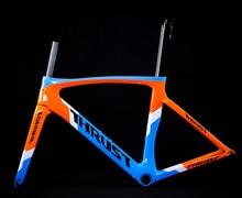 דחף פחמן כביש מסגרת 46 49 52 54 56 58cm פחמן מסגרת כביש PF30 פחמן אופני מסגרת כביש אופניים אדום 8 צבע אופניים חלקים
