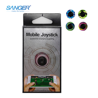 SANGER Color Version Smartphone Mini Game Joysticks for Phone Touch Screen Mobile Game Fling Mini Joystick Supported for IPhone