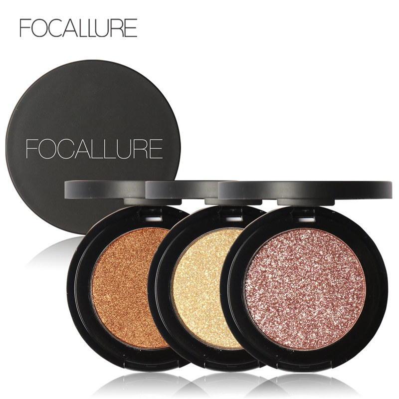 Aliexpress.com : Buy FOCALLURE Professional Metallic Eyeshadow ...