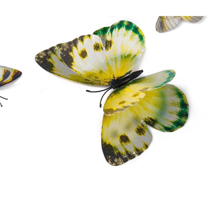 Contemporary White Butterfly Wall Decor Illustration - Wall Art ...