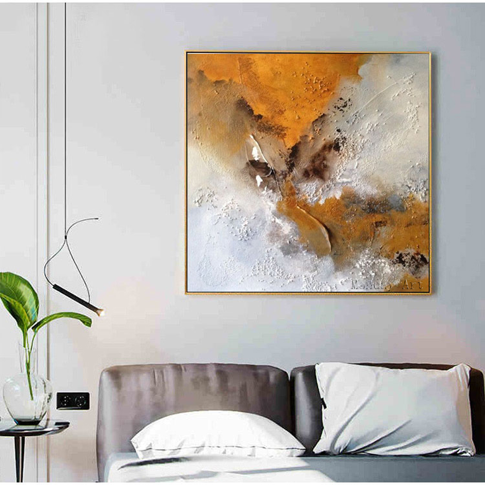 Big Size Pure Hand-painted oil painting Abstract picture Wall Art Oil Painting on Canvas Paintings for Living Room