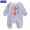 Baby Rompers 2017 Autumn Spring Boys Girls Cotton Clothes High Quality Baby Cartoon Print Jumpsuit Infant Outerwear Baby Wear