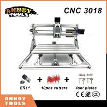 Tools - Woodworking Machinery - High Quality CNC 3018 DIY CNC Laser Engraving Machine 0.5-5.5w Laser, Pcb Milling Machine,Wood Carving Machine,cnc Router,GRBL