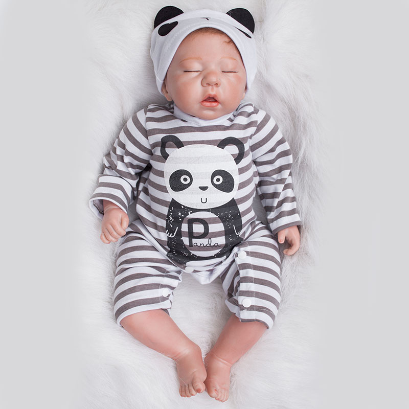 20 Inch Dolls Reborn Sleeping Silicone Reborn Doll with Baby Clothes Bebe Tsum Tsum YDK-1R1 Bonecas Reborn Toys for Girls dial ydk 606