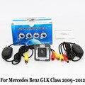 RCA Com Fio Ou Sem Fio Da Câmera Para Mercedes Benz GLK Classe X204 2009 ~ 2012/HD Lente Grande Angular Visão CCD Noite câmera de Visão Traseira câmera