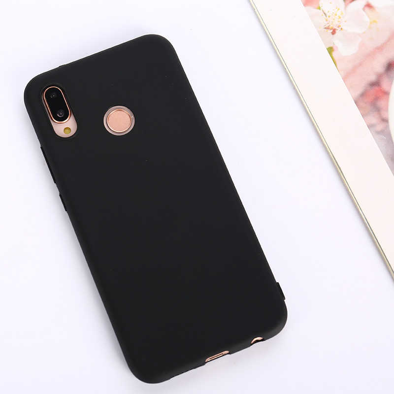 cute Candy Soft phone case For Huawei P SMART Plus P SMART 2019 P9 Plus Mate RS Matte Colorful Cover cases fundas etui phon caso