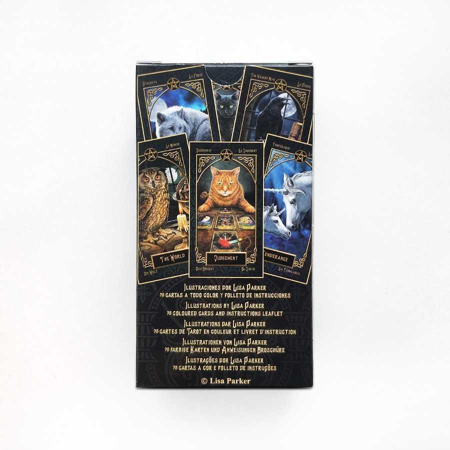 タロット familiars カードリサパーカーボードゲームデッキスペイン占いゲーム 78 カード