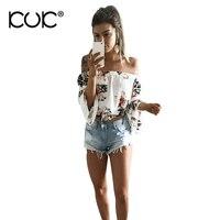 Kuk Chemise Femme White Blouse Shirt Blusas Femininas 3XL Plus Size Women Clothing Summer Beach Tunic Hippie Chic Boho Top A169