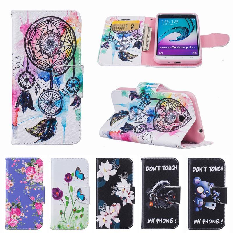 fashion wallet phone case for coque samsung galaxy j3 2016 case flip cover samsung galaxy j3. Black Bedroom Furniture Sets. Home Design Ideas