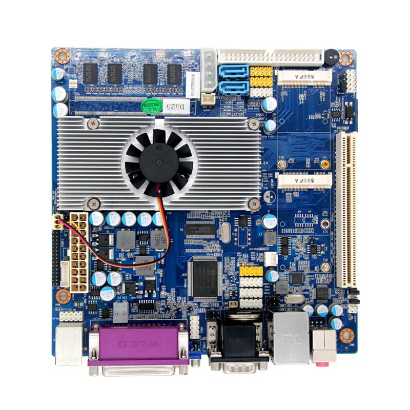 Atom D525 Firewall Motherboard for Networking Server with N570 Processor partaker 1u firewall server security firewall d525 with intel pci e 1000m 4 82583v 2gb ram 32gb ssd pfsense router