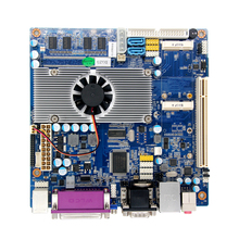 Atom D525 Firewall Motherboard for Networking Server with N570 Processor