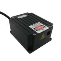 Módulo láser de diodo RGB de 4W y 4000mW Entrada de 12V TTL y modulación analógica integrada de 5V para luces de escenario y disco de fiesta