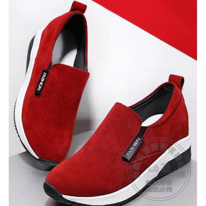 Plain font b Women b font Shoe Anti skid Scrub Leather Sport Exercise Brand Shoes font