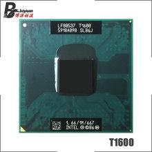 Intel komórkowy Celeron Dual-Core T1600 SLB6J 1.6 GHz Dual-Core podwójny z gwintem procesor CPU 1 M 35 W gniazdo P