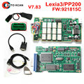 Hot Sell V7.83 lexia 3 with 921815C Firmware !!! Lexia3 PP2000  For Ci-troen For Pe-ugeot Diagbox V7.83  Free shipping